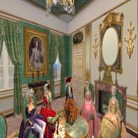 An Evening Soiree dans Le Appartement de La Princess de Lamballe