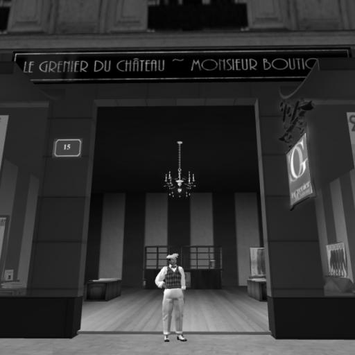 The New 1920's Le Grenier Shop in Paris Shop