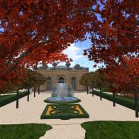 Petit Trianon-Jardin Francais-Autumn 01