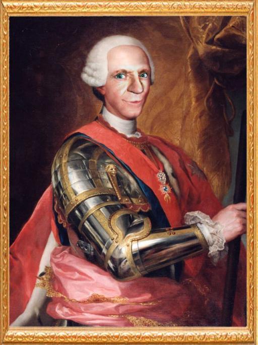 S.M. El Rey Carlos III de Borbon y Farnesio