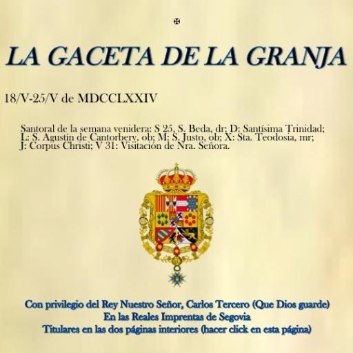 La Gaceta de La Granja newspaper